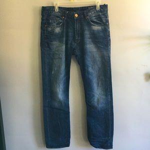 Buffalo by David Britton Men's Slim Straight Jeans